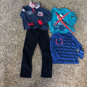 Lot Of Clothes 5/6 Years Old